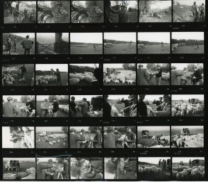 Contact Sheet 199 by James Ravilious