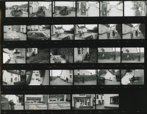 Contact Sheet 215 by James Ravilious