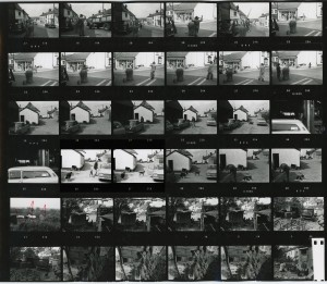 Contact Sheet 228 by James Ravilious
