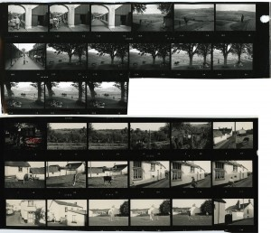 Contact Sheet 243 by James Ravilious