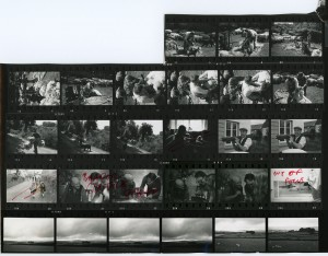 Contact Sheet 255 by James Ravilious