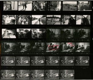 Contact Sheet 271 by James Ravilious