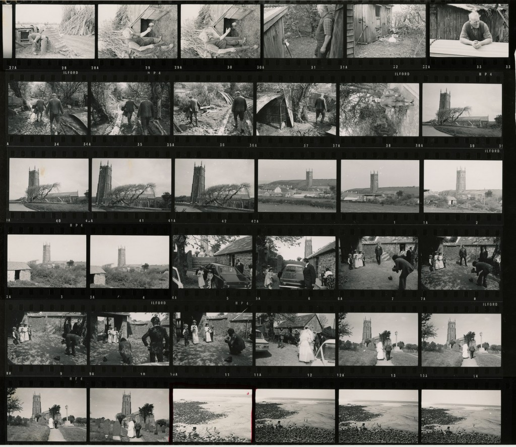 Contact Sheet 397 by James Ravilious
