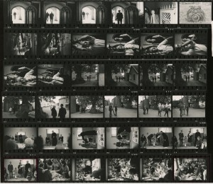 Contact Sheet 416 by James Ravilious