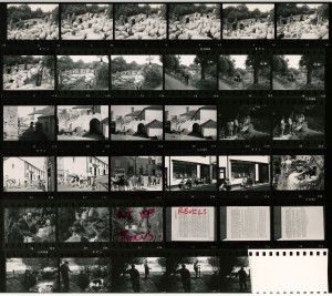 Contact Sheet 437 by James Ravilious