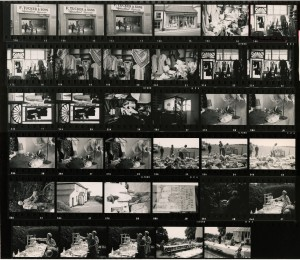 Contact Sheet 439 by James Ravilious