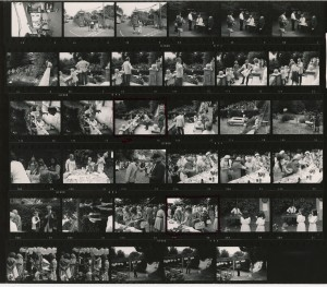 Contact Sheet 441 by James Ravilious
