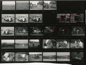 Contact Sheet 449 by James Ravilious