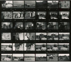 Contact Sheet 452 by James Ravilious