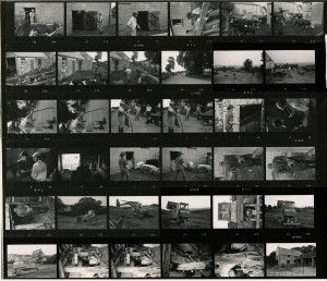 Contact Sheet 453 by James Ravilious