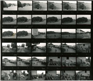 Contact Sheet 455 by James Ravilious
