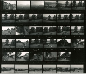 Contact Sheet 456 by James Ravilious