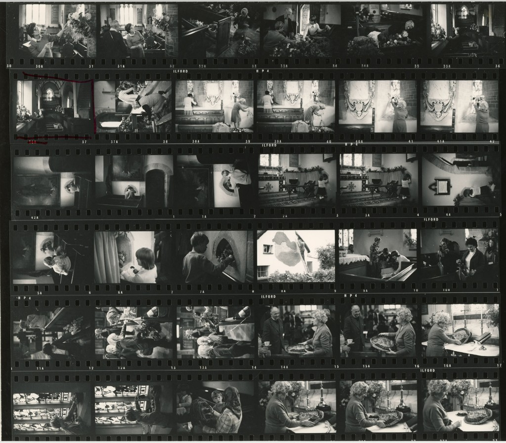 Contact Sheet 482 by James Ravilious