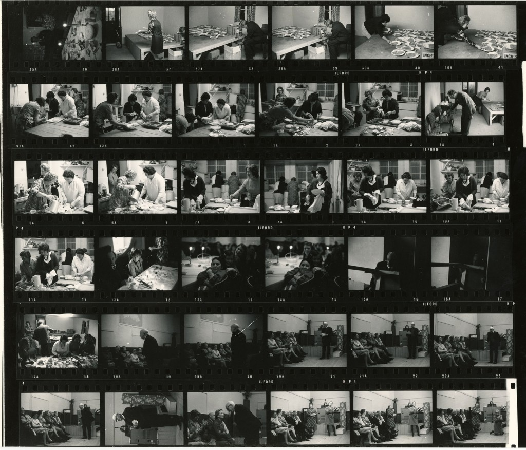 Contact Sheet 500 by James Ravilious