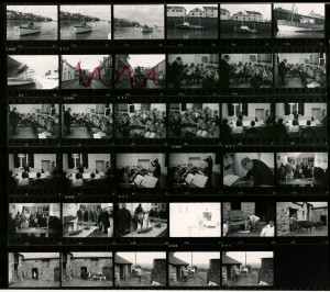 Contact Sheet 541 by James Ravilious