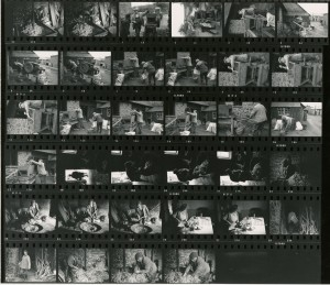 Contact Sheet 543 by James Ravilious