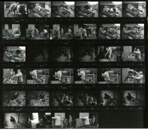 Contact Sheet 544 by James Ravilious