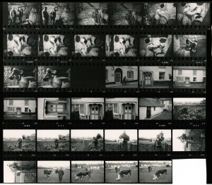 Contact Sheet 545 by James Ravilious