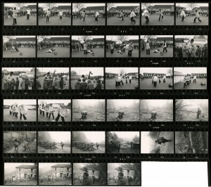 Contact Sheet 548 by James Ravilious