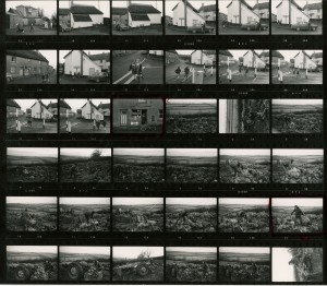 Contact Sheet 554 by James Ravilious