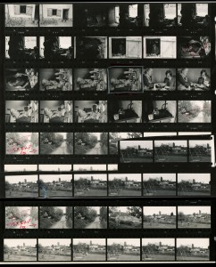 Contact Sheet 593 by James Ravilious