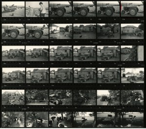 Contact Sheet 640 by James Ravilious