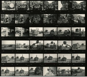 Contact Sheet 641 by James Ravilious