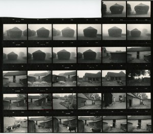 Contact Sheet 647 by James Ravilious