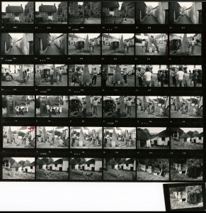 Contact Sheet 651 by James Ravilious
