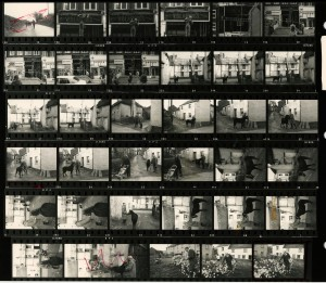Contact Sheet 677 by James Ravilious