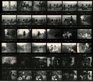 Contact Sheet 694 by James Ravilious