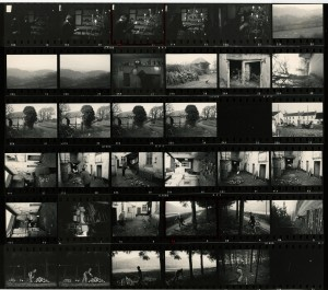 Contact Sheet 695 by James Ravilious