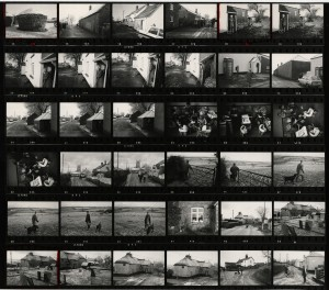 Contact Sheet 698 by James Ravilious