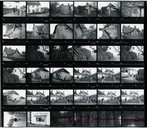 Contact Sheet 704 by James Ravilious