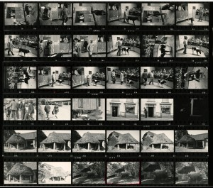 Contact Sheet 723 by James Ravilious