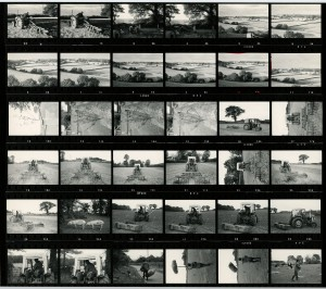 Contact Sheet 726 by James Ravilious