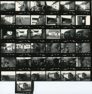 Contact Sheet 732 by James Ravilious