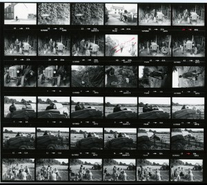 Contact Sheet 744 by James Ravilious