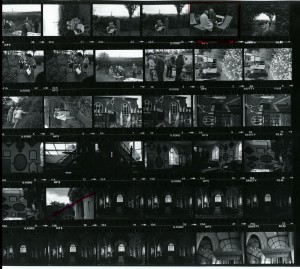Contact Sheet 800 by James Ravilious