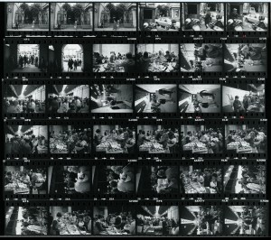 Contact Sheet 826 by James Ravilious