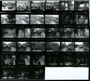 Contact Sheet 853 by James Ravilious