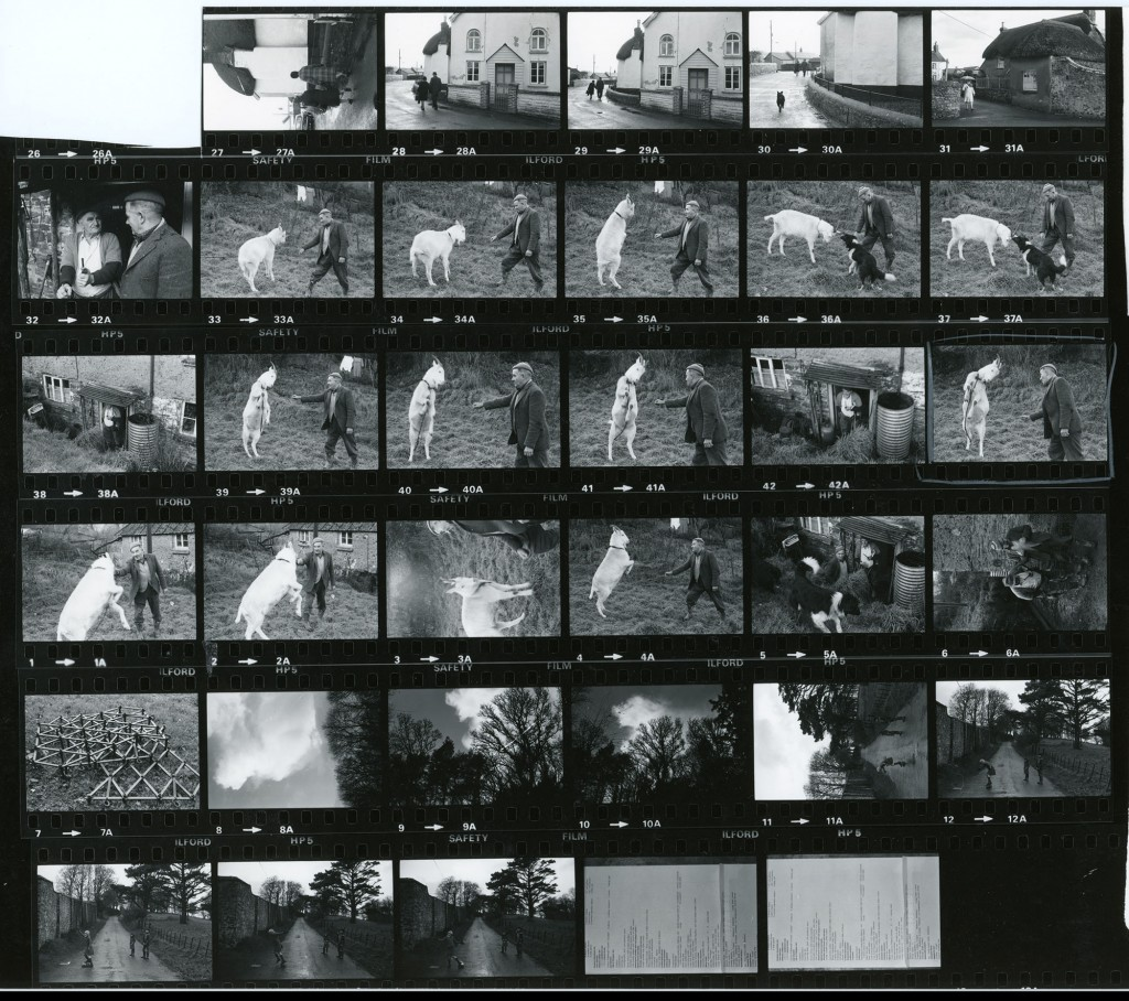 Contact Sheet 868 by James Ravilious