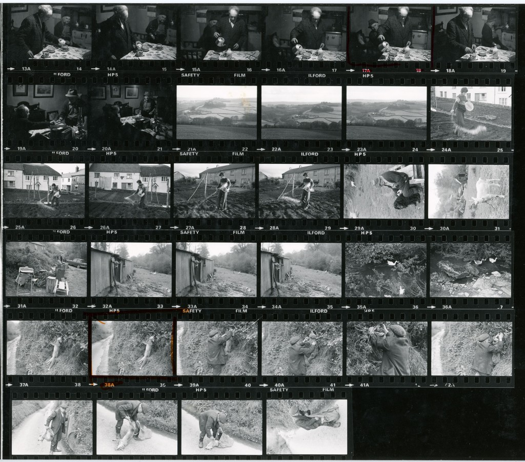 Contact Sheet 929 by James Ravilious