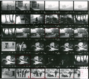 Contact Sheet 940 by James Ravilious