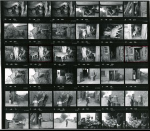 Contact Sheet 943 by James Ravilious