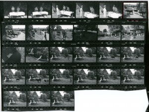 Contact Sheet 945 by James Ravilious