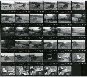 Contact Sheet 947 by James Ravilious