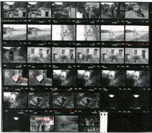 Contact Sheet 956 by James Ravilious