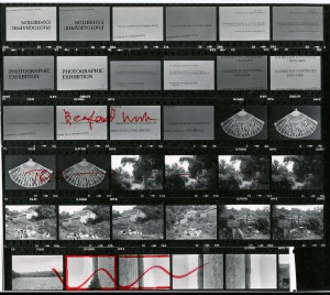 Contact Sheet 957 by James Ravilious