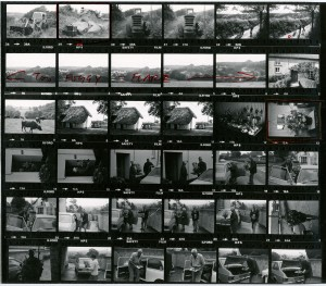 Contact Sheet 960 by James Ravilious